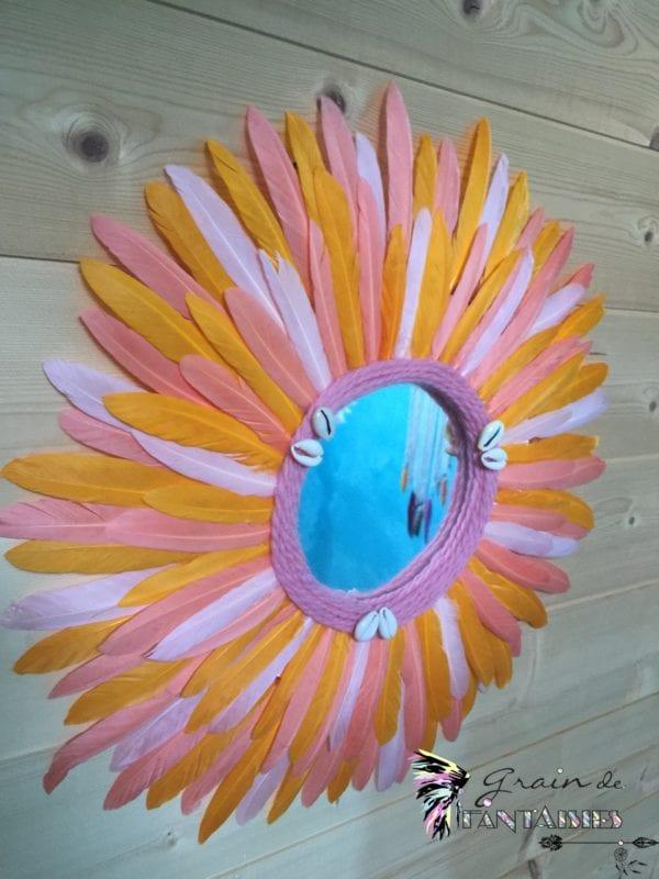 Jujuhat miroir orange 40 cm2
