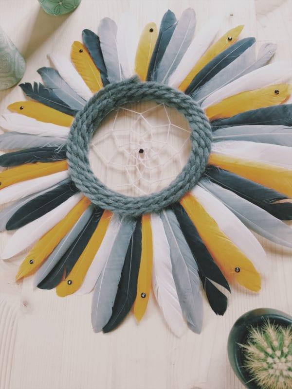 Juju hat attrape-rêve et plumes 30 cm
