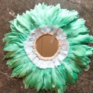 Jujuhat miroir vert d'eau 60 cm