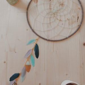 Attrape-rêve cascade de plumes